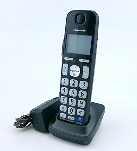 Panasonic KX-TGEA20B Accessory Replacement Handset With Charger, No batteries