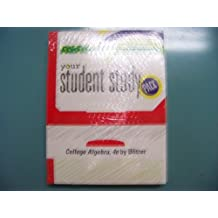 Your Student Study Pack: College Algebra, 4e by Blitzer [With CDROM]