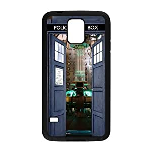 Blue police box Cell Phone Case for Samsung Galaxy S5 hjbrhga1544