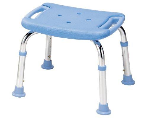 シャワーチェア コンパクトミニDX 背もたれなし T-6301-5 ペパーミントブルー B001GZBFZW  ペパーミントブルー