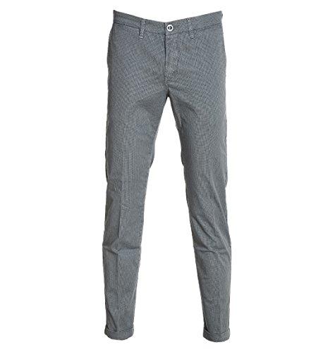 Re-Hash Pantaloni Uomo P2497518MUCHA3442 Cotone Grigio