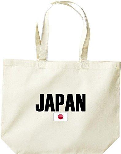 große Bolsa de compra, Japón Land PAÍSES Fútbol Natural