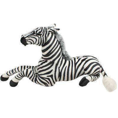 Zebra De Pelúcia Realista Safári Savana