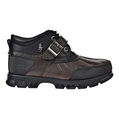 (Polo Ralph Lauren Pitstop/Timber Dover III Mens Boots Gray/Black 812168222-5bf (10 D(M) US))
