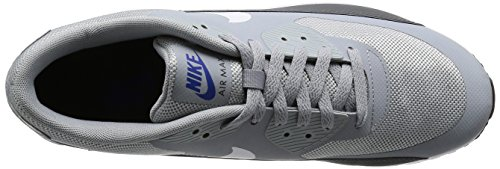 Nike Air Max 90 Ultra 2.0 Essential, Scarpe da Ginnastica Uomo Grigio (Wolf Grey/White/Dark Grey/Game Royal)
