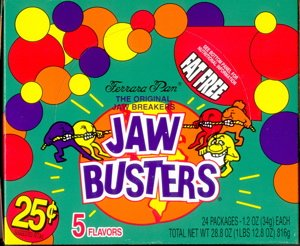 b30c9409db Amazon.com   Jaw Busters - Old Time Jawbreakers   Hard Candy ...