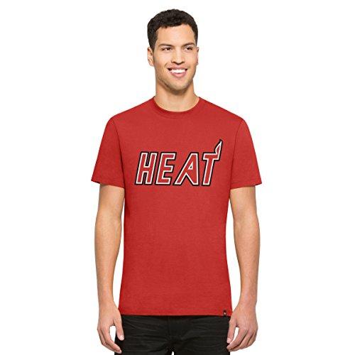 (NBA Miami Heat Men's '47 Crosstown MVP Tee, Rebound Red, X-Large)