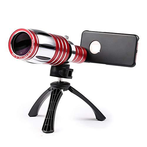 Zhengtufuzhuang Mobile Phone Lens, 50 Times Mobile Phone Telephoto Lens, Telescope, External Lens Telephoto Dedicated, High-Definition Screen Ultra-Clear