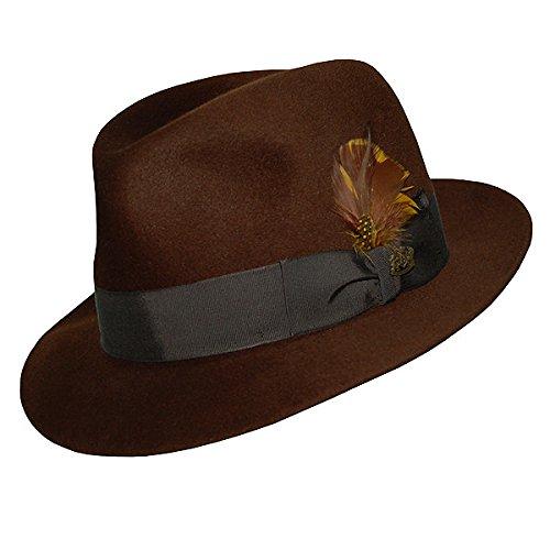 Biltmore President Eleganza CHICAGO Hats Coffee-7 - Biltmore Fashion