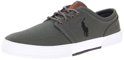 Polo Ralph Polo Deep Low Faxon Sneaker Black Lauren Grey Men's PPxqpr