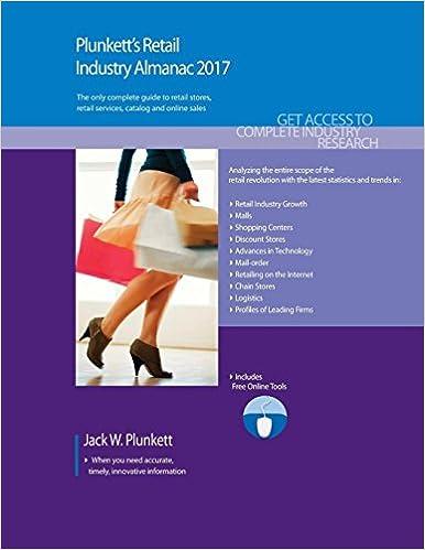 Plunkett's Retail Industry Almanac 2017: Jack W  Plunkett