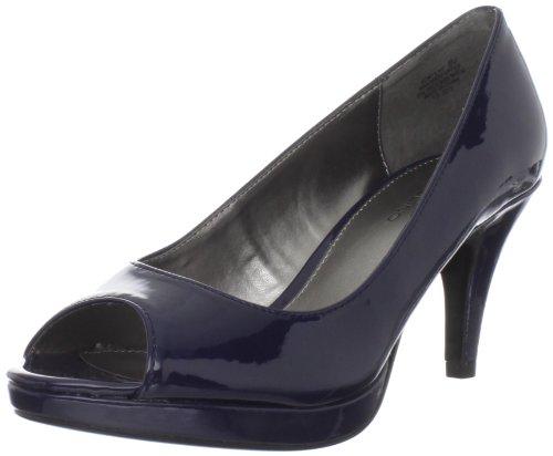 Bandolino Women's Mylah Platform Pump,Navy Patent,6.5 M (Bandolino Leather Platforms)