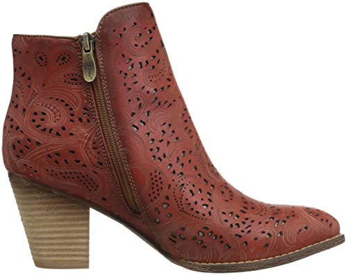 Step Alivia Boots Red L'Artiste Women's Spring by PAEaR8