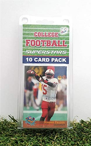 Nebraska Cornhuskers- (10) Card Pack College Football Different Husker Superstars Starter Kit! Comes in Souvenir Case! Great Mix of Modern & Vintage Players for the Super Huskers Fan! By 3bros