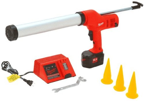 656224 - CRL Milwaukee® 14.4V DC Variable Speed Cordless Caulking Gun for Sausages