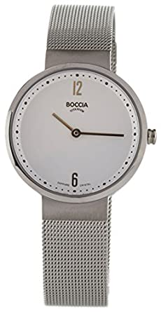 Boccia Armbanduhr 3283 01 Damenuhr: : Uhren