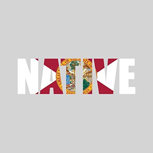 Florida Vinyl (Florida Native Sticker FA Graphix Vinyl Decal FL pride)