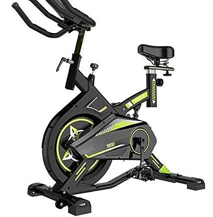 Lcyy-Bike Entrenadores De Bicicleta Resistencia Magnética 8 Kg Volante Cardio Workout con Pantalla Multifuncional Y Amortiguador De Resorte Ajustable ...