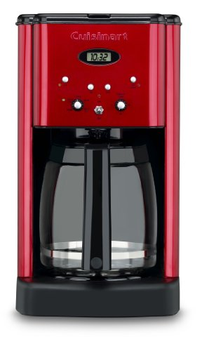 Cuisinart Brew Central 12-Cup Programmable Coffeemaker, Red (Cusinart Red Coffee Maker)