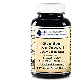 Quantum Iron Support, 120 VCaps - Quantum-State Blood Support Formula Featuring Live-Source Iron (formerly Erythropro)