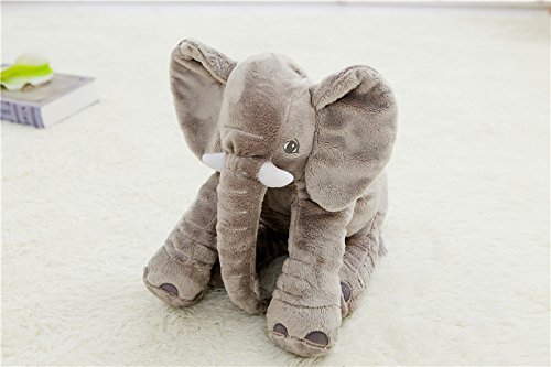 40cm Elephant Plush Baby Animal Elephant Style Doll Stuffed Pillow Kids Toy for Children Room Bed Decoration Toys Kids