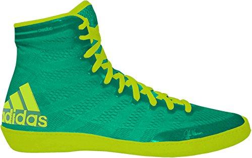 Adidas Adizero Varner Wrestling Shoes   Flash Lime Solar Yellow   11 5