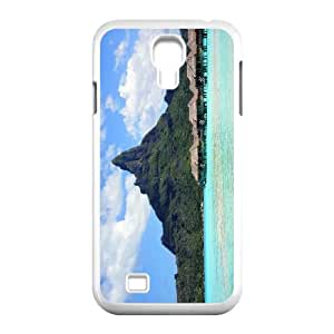 Samsung Galaxy S4 9500 Cell Phone Case Covers White Bora Bora With Nice Appearance g1855051