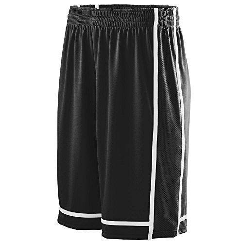 Augusta Sportswear BOYS' WINNING STREAK SHORT M Black/White