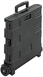 Safco Products 4054BL Stow-Away Crate, Black