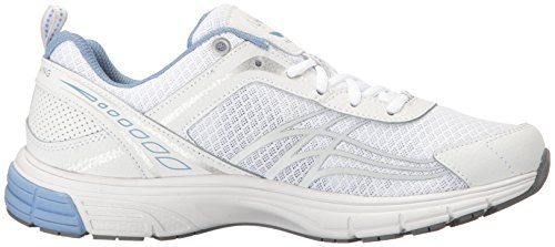 Ryka Women's Phoenix Running Shoe, White/Silver, 7.5 M US by Ryka (Image #7)