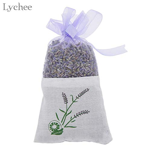 Cacys-Store - Dried Flower Lavender Sachet Bags Decorative Flowers DIY Party Decoration -
