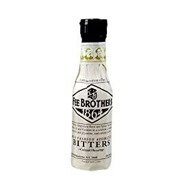 Fee Brothers Old Fashion Aromatic Bitters 5oz 12 Classic cocktail flavoring Used in popular drinks such as the Manhattan and Planter's Punch Made with Angostura bark, along with other spices and citrus oils