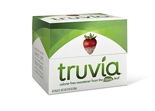 Truvia Natural Stevia Sweetener Packets, 80-Count Carton (Net Wt. 8.46 oz)