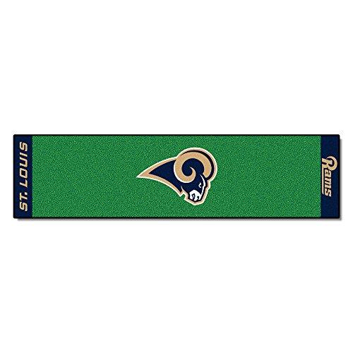 Los Rug Angeles Football - FANMATS NFL Los Angeles Rams Nylon Face Putting Green Mat
