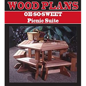 OH-SO-SWEET PICNIC SUITE WOODWORKING PAPER PLAN PW10004
