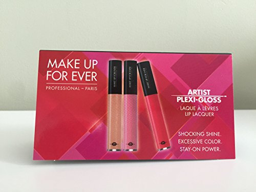 Make Up Forever Artist Plexi-Gloss Lip Lacquer Three Shade S