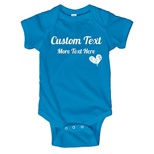 Customized Girl Personalized Mothers Day Onesie: Infant Rabbit Skins Lap Shoulder Creeper