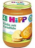 HiPP Kürbis mit Kartoffeln Bio, 6er Pack (6 x 190 g)