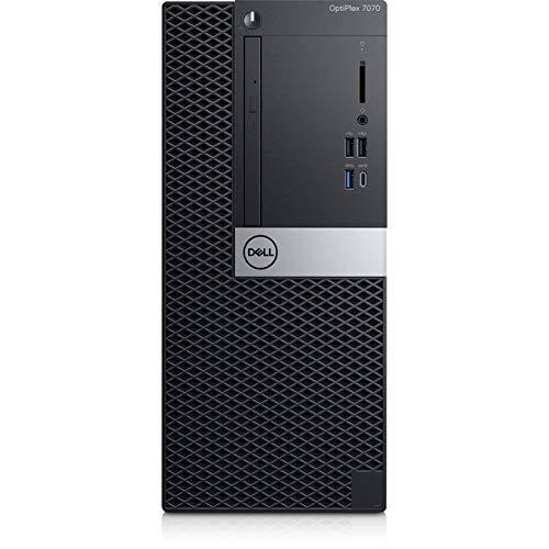 Dell OptiPlex 7070 Desktop Computer - Intel Core i7-9700 - 8GB RAM - 1TB HDD - Tower