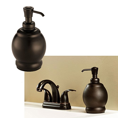 New York Bathroom Short Soap Pump Lotion Dispenser Bath Sink Accessories, Oil Rubbed Bronze