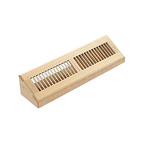 WELLAND Hardwood Vent Baseboard Diffuser Wall Register for sale  Delivered anywhere in USA