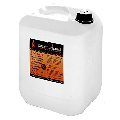 30 Liter Bioethanol 100%, 3 Kanister (3x10L) - direkt vom Hersteller - versandkostenfrei nach DE! Bioenergie Icking GmbH