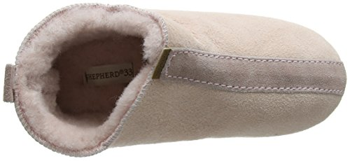 Shepherd Viared Slipper 326 - Zapatilla Baja Unisex Niños Rosa (Pink 98)