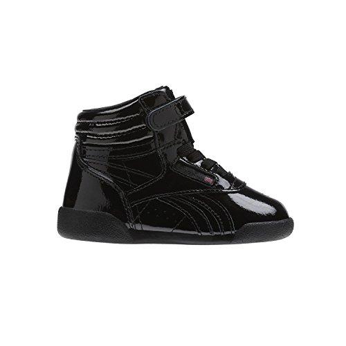 Reebok F/S Hi Patent, Zapatillas de Deporte Unisex Niño, Negro (Black 000), 22.5 EU