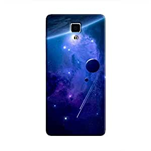 Cover It Up - Stars and Planets Blue Mi4 Hard Case