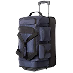 """Product details:  - Dimensions:22"""" 12.2 x 11.8 x 22.8inches, 30"""" 14 x 13 x 30.7inches (LxWxH)  When the bag is fully expanded, the width of the small duffle bag is 11.8inch,and the big one is 13inch.  - Item Weight:Weight:22"""" 6.17 lbs 30""""7.7 ..."""