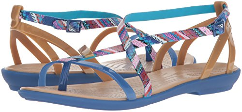 Pictures of Crocs Women's Isabella Gladiator Graphic Sandal 205146 4