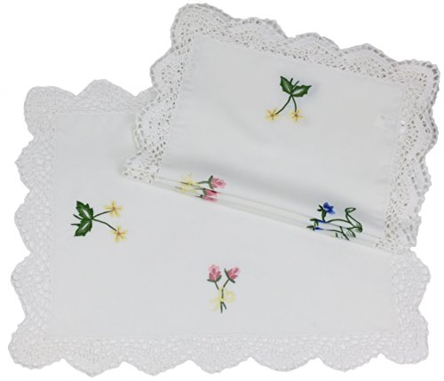 Xia Home Fashions Embroidery Placemats