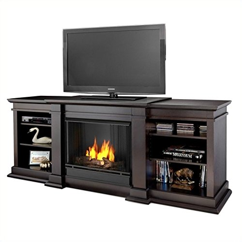 Real Flame Fresno Entertainment Ventless Gel Fireplace For Sale