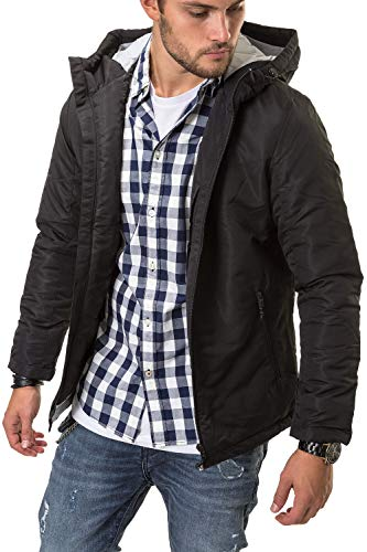 Hombre Jack 0qx0pw Jcobarkley Para Jacket Jones Chaqueta Negro Amp; E18xxnwfqR